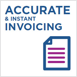 Accurate & Instant Invoicing