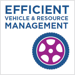 Efficient Vehicle & Resource Management